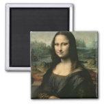 Mona Lisa, c.1503-6 Magnet Carré