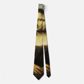Mona Lisa durch Leonardo da Vinci, Bedruckte Krawatte