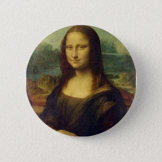 Mona Lisa Knopf Runder Button 5,1 Cm