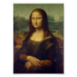 Mona Lisa par Leonardo da Vinci Poster