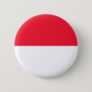Monaco-Flagge Runder Button 5,1 Cm