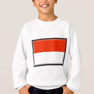 Monaco-Flagge Sweatshirt