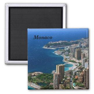 Monaco - magnet carré