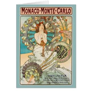 Monaco Monte Carlo Karte