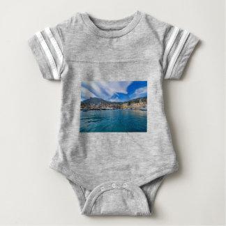 Monaco-Skyline Baby Strampler