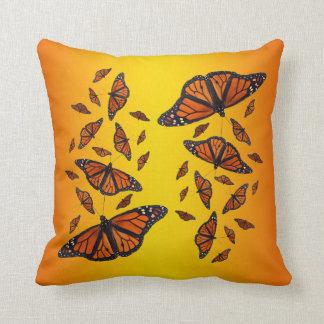 Monarch-Gemisch-Kissen (Sonnendurchbruch) Kissen