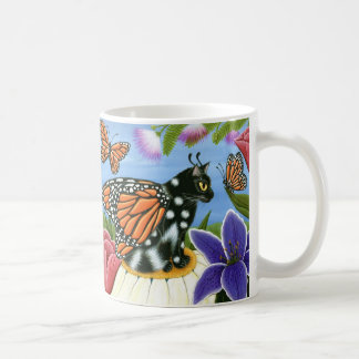 Monarch-Schmetterlings-feenhafte Kaffeetasse