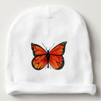 Monarchfalter auf Babybeanie-Hut Babymütze