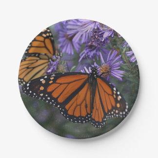 Monarchfalter Pappteller