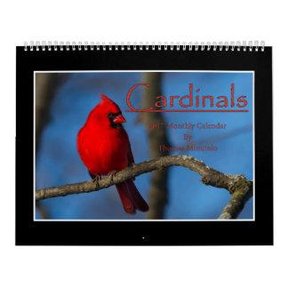 Monatskalender der Kardinals-2017 durch Thomas Kalender