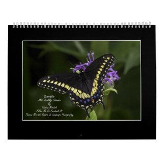 Monatskalender der Schmetterlings-2018 durch Tom Kalender