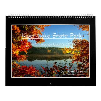 Monatskalender des Kiser See-2017 durch Tom Kalender