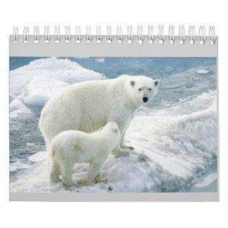 Monatskalender (Eisbär) Abreißkalender