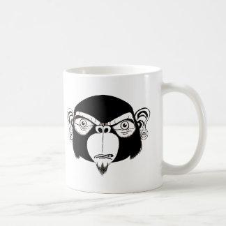 Mönch-Kopf Kaffeetasse