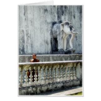 Mönch u. Elefant Karte