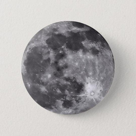 Mond-Knopf Runder Button 5,1 Cm