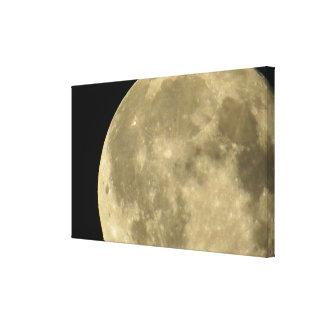 Mond-Leinwanddruck Leinwanddruck