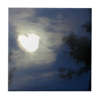 Mond-Liebe Fliese