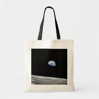 Mond-Mondbahn-Foto der NASAs Apollo 8 Earthrise Tragetasche