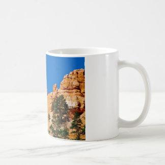 Mond über Bryce Schlucht, Utah Kaffeetasse