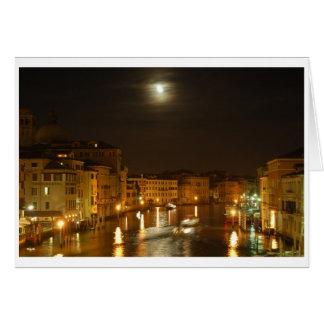 Mond über Venedig Karte