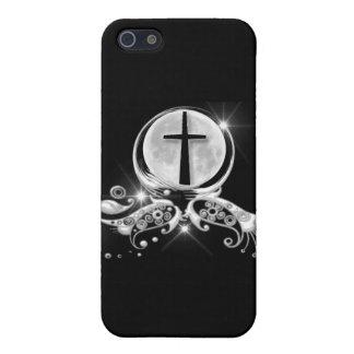 Mond und Kreuz iPhone 5 Schutzhülle