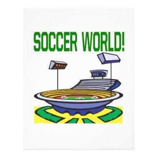 Monde du football prospectus en couleur