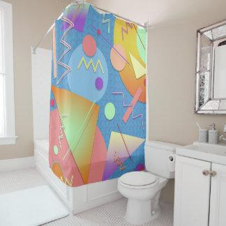 Mondrian #411 duschvorhang