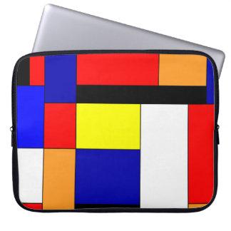 Mondrian #9 laptop sleeve