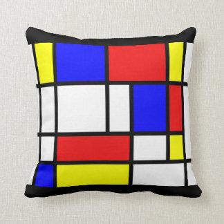 Mondrian - Primärfarbkissen Kissen