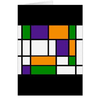 Mondrian - Sekundärfarbkarte Karte