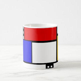 Mondrian Tasse