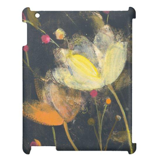 Mondschein-Garten auf Schwarzem iPad Hüllen