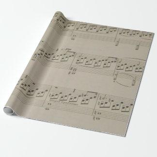 Mondschein-Sonate Einpackpapier