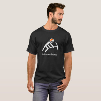 Monero Bergmann-Strichmännchen T-Shirt