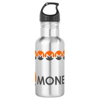 Monero Wasser-Flasche Edelstahlflasche