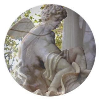 Monet Ange Dans La Fenetre Platte Teller
