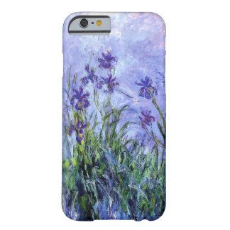 Monet Flieder Irises iPhone 6/6S kaum dort Kasten Barely There iPhone 6 Hülle