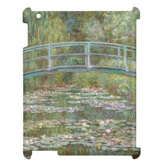 Monet Kunst-Brücke über einem Teich der iPad Hülle