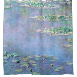 Monet Les Nympheas Wasser-Lilien-schöne Kunst Duschvorhang
