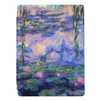 Monet Wasser-Lilien mit Teich-Reflexionen iPad Pro Hülle