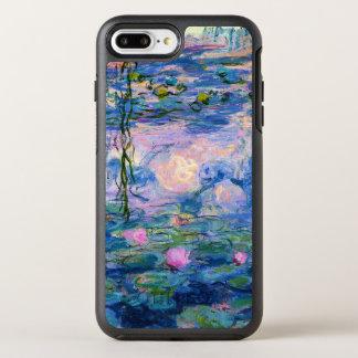 Monet Wasser-Lilien mit Teich-Reflexionen OtterBox Symmetry iPhone 8 Plus/7 Plus Hülle