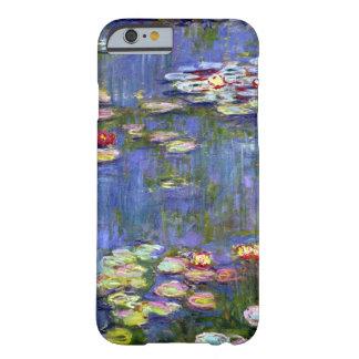 Monet Wasser-Lilien-Teich-schöne Kunst Barely There iPhone 6 Hülle