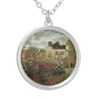 Monets Garten in Argenteuil durch Claude Monet Versilberte Kette