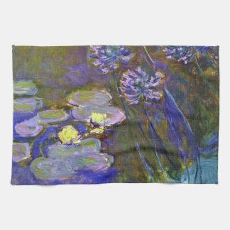 Monets Wasser-Lilien Küchentuch