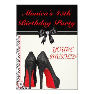 Monica 45. Geburtstag laden ein 11,4 X 15,9 Cm Einladungskarte