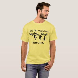 Monkey herum T-Shirt