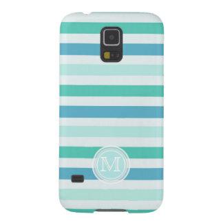 Monogramm: Beachy Streifen Samsung Galaxy S5 Hüllen