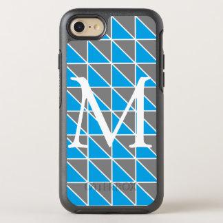 Monogramm-Dreieck-Telefon-Kasten OtterBox Symmetry iPhone 8/7 Hülle