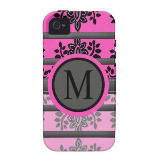 Monogramm-Entwürfe iPhone 4/4S Cover